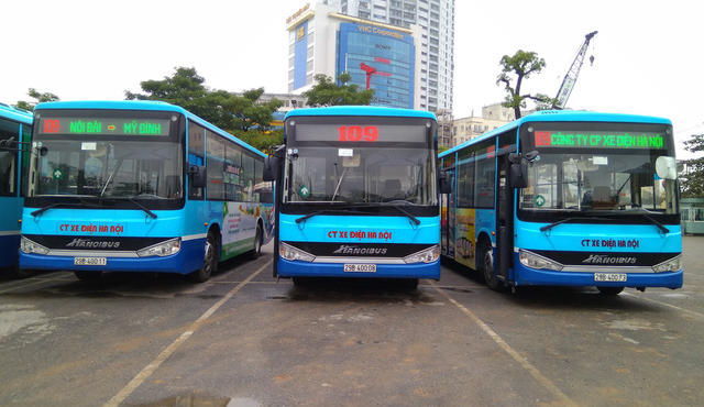Thêm tuyến xe buýt thứ 8 từ trung tâm Hà Nội đi sân bay Nội Bài - Ảnh 1.
