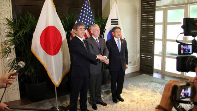 Mỹ, Hàn Quốc hủy tập trận chung Vigilant Ace - Ảnh 1.