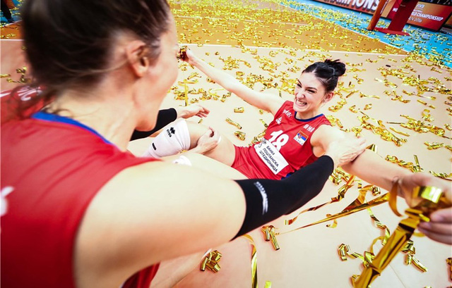 Bóng chuyền nữ Serbia lên ngôi vô địch thế giới - Ảnh 2.