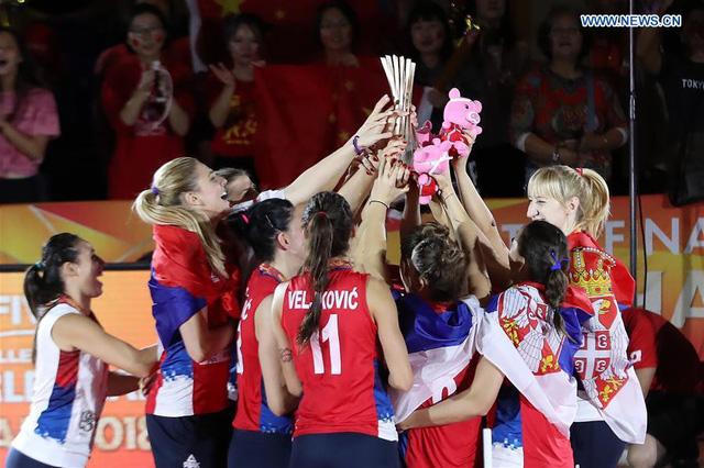 Bóng chuyền nữ Serbia lên ngôi vô địch thế giới - Ảnh 1.
