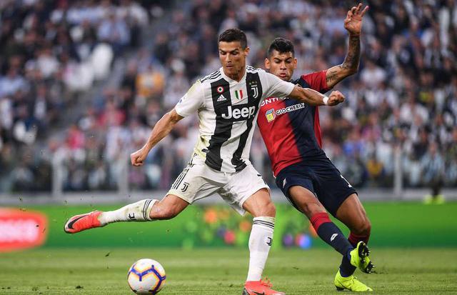 Juventus mất mạch toàn thắng dù Ronaldo ghi bàn - Ảnh 1.