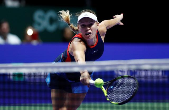 WTA Finals 2018: ĐKVĐ Wozniacki thua sốc Pliskova ở trận ra quân - Ảnh 2.