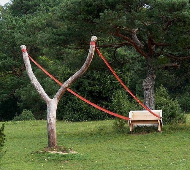 Những chiếc ghế độc lạ, nhìn là muốn ngồi - Ảnh 12.