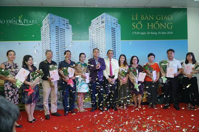 Công ty CP Địa Ốc & Xây Dựng SSG2 trao sổ hồng cho cư dân - Ảnh 4.