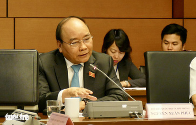 Thủ tướng Nguyễn Xuân Phúc: Ta phải có ý chí dân tộc mạnh mẽ hơn - Ảnh 1.