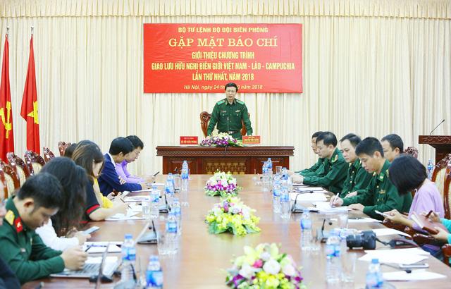 Giao lưu hữu nghị biên giới Việt Nam - Lào - Campuchia - Ảnh 1.
