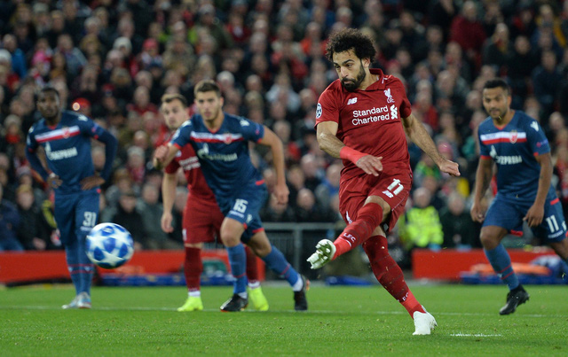 Salah lập cú đúp, đưa Liverpool lên ngôi đầu - Ảnh 4.