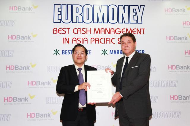 HDBank nhận giải thưởng Cash Management 2018 - Ảnh 1.