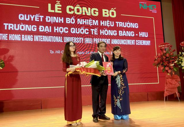 PGS.TS Hồ Thanh Phong làm hiệu trưởng ĐH Quốc tế Hồng Bàng - Ảnh 1.