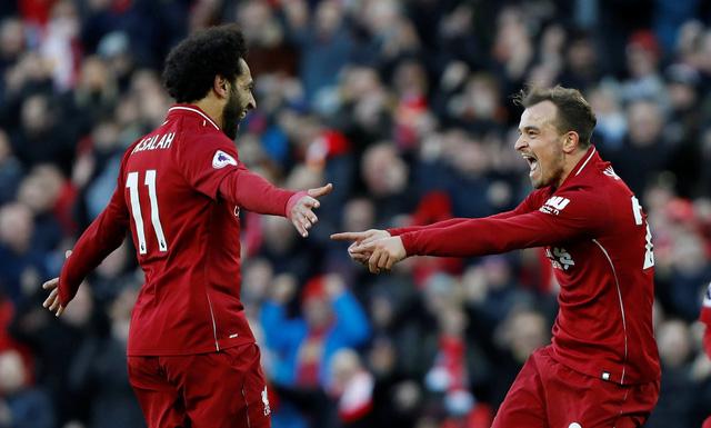 Đè bẹp Cardiff, Liverpool chiếm ngôi đầu bảng - Ảnh 2.
