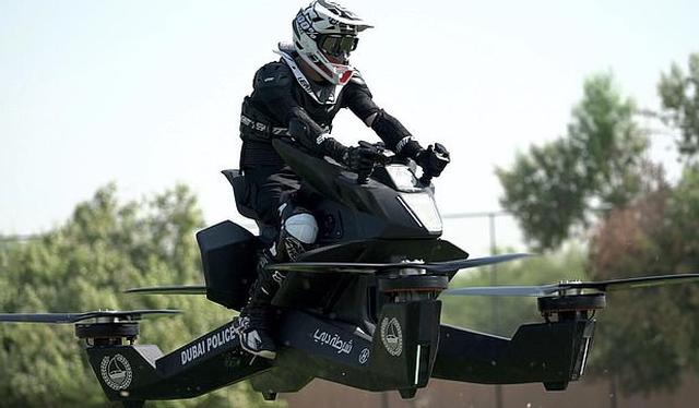 Cảnh sát Dubai sẽ dùng 'xe bay' đi tuần tra phố - Ảnh 1.