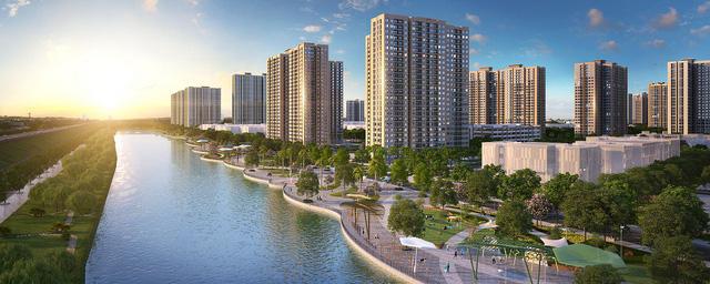VinCity ra mắt phân khu căn hộ đầu tiên - Ảnh 4.