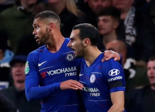 Chelsea và Arsenal vào tứ kết Cúp Liên đoàn Anh - Ảnh 1.