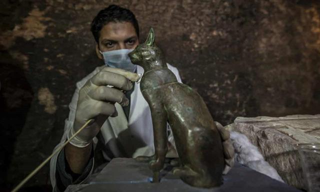 Tìm thấy hàng chục xác ướp mèo 6.000 năm tuổi ở Ai Cập - Ảnh 3.