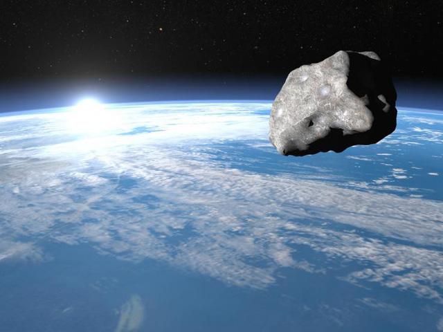Ba tiểu hành tinh rủ nhau cùng bay qua Trái đất - Ảnh 1.