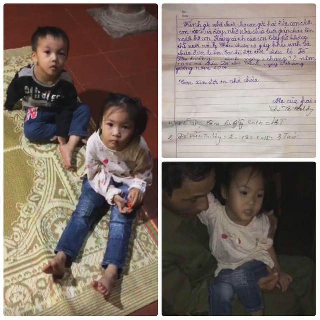 Cộng đồng mạng Hải Phòng tìm người thân cho hai trẻ nhỏ bị bỏ rơi - Ảnh 1.