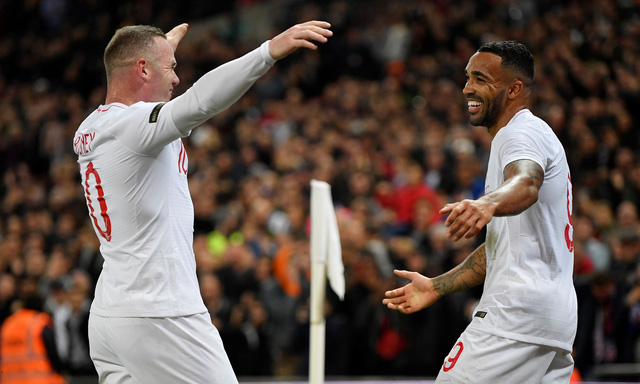 Anh đè bẹp Mỹ trong ngày chia tay Rooney - Ảnh 4.