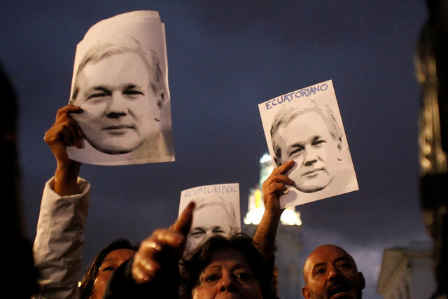 Mỹ vô tình để lộ cáo buộc đối với nhà sáng lập WikiLeaks - Ảnh 3.