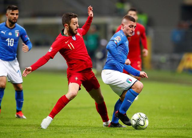 Hòa Ý, Bồ Đào Nha đoạt vé vào bán kết Nations League - Ảnh 1.