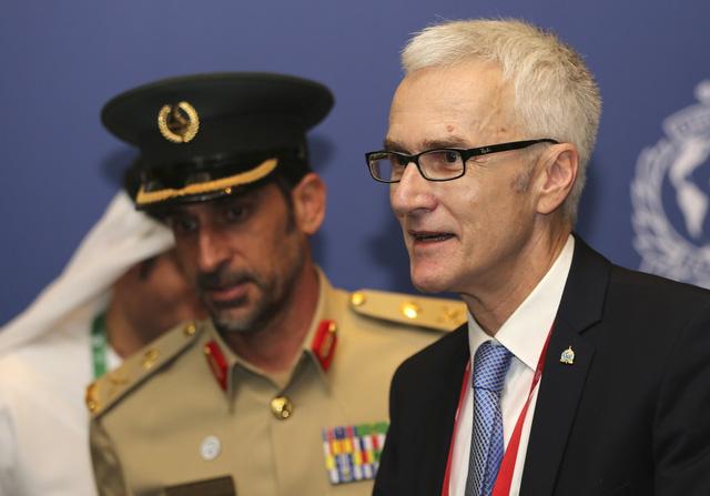 Interpol bầu chủ tịch mới thay chủ tịch Trung Quốc bị bắt vì tham nhũng - Ảnh 1.