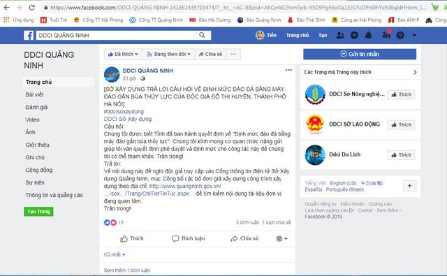 Quảng Ninh dùng Facebook đối thoại với dân và doanh nghiệp - Ảnh 2.