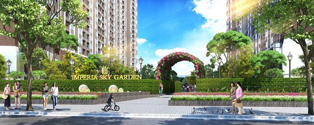 Imperia Sky Garden chính thức mở bán sau khi hoàn thành cất nóc - Ảnh 2.