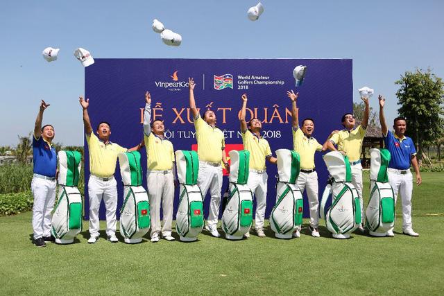 Những khoảnh khắc làm nên kỳ tích của đội tuyển golf Việt Nam - Ảnh 6.