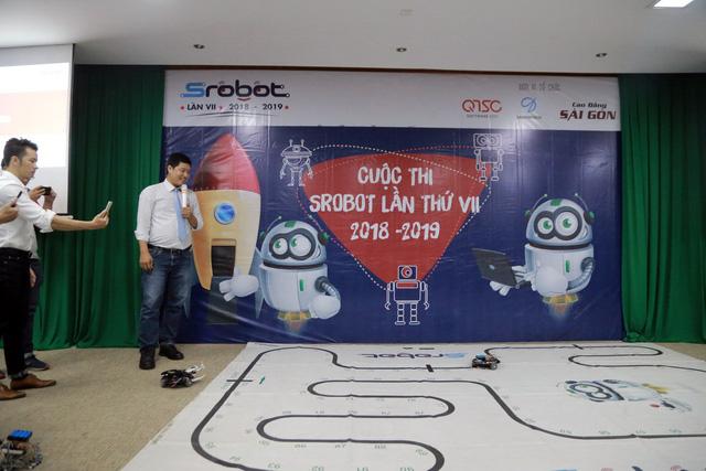Khởi động cuộc thi SRobot cho học sinh - Ảnh 1.