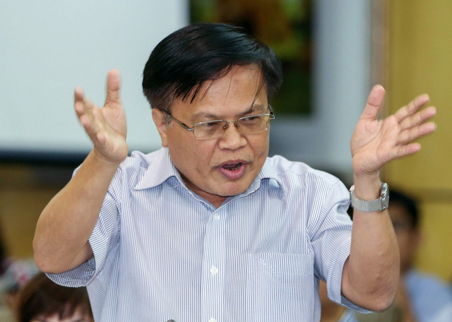 Ông Nguyễn Đình Cung: Chưa thể thay thế doanh nghiệp nhà nước - Ảnh 1.