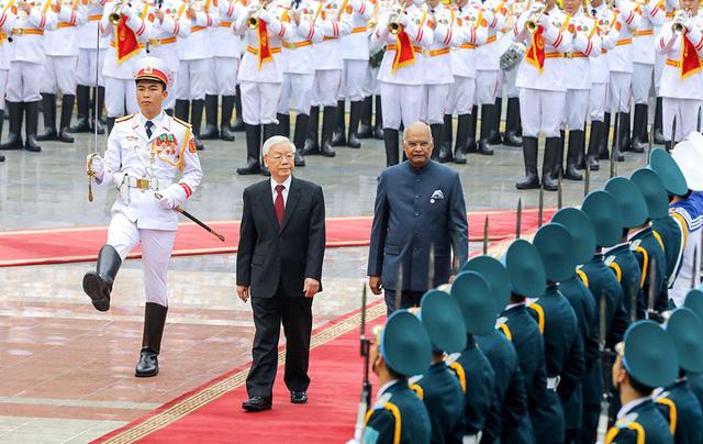 Việt - Ấn hướng đến kim ngạch thương mại 15 tỉ USD - Ảnh 1.