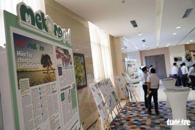 Giữa biến đổi khí hậu, dân miền Tây Cùng xây cuộc sống xanh - Ảnh 8.