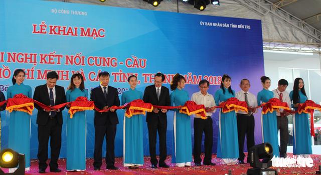 Hơn 1.500 doanh nghiệp tham gia hội nghị kết nối cung - cầu - Ảnh 1.