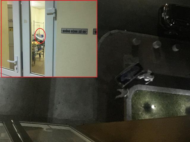Phạm nhân nhảy lầu tự tử khi đang điều trị trong bệnh viện - Ảnh 1.