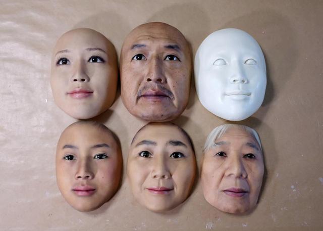 Nhật Bản nghiên cứu chế tạo mặt nạ in 3D y như người thật - Ảnh 1.