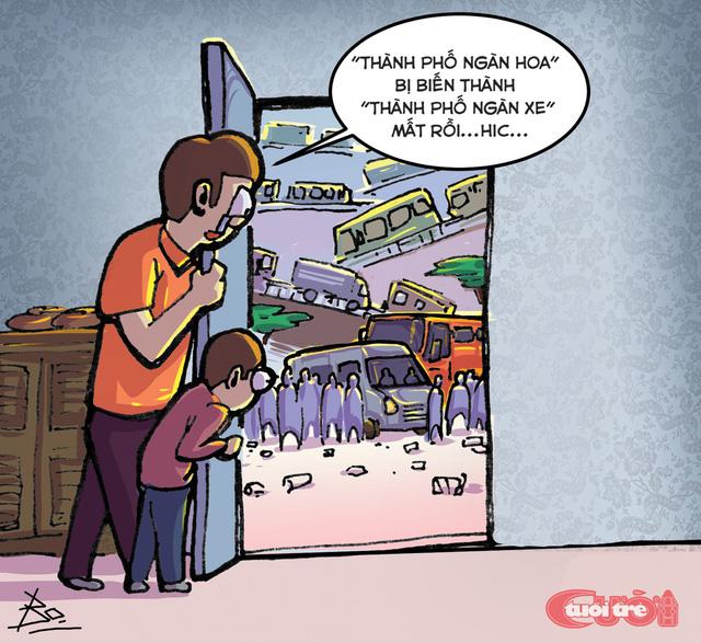 Cơn sốt Đà Lạt qua tranh biếm họa - Ảnh 10.
