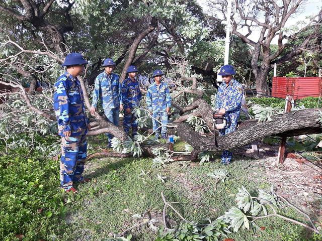 Huyện đảo Trường Sa không bị thiệt hại nhiều trong bão số 9 - Ảnh 1.