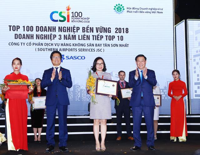Ba năm SASCO đứng top 10 doanh nghiệp phát triển bền vững Việt Nam - Ảnh 1.