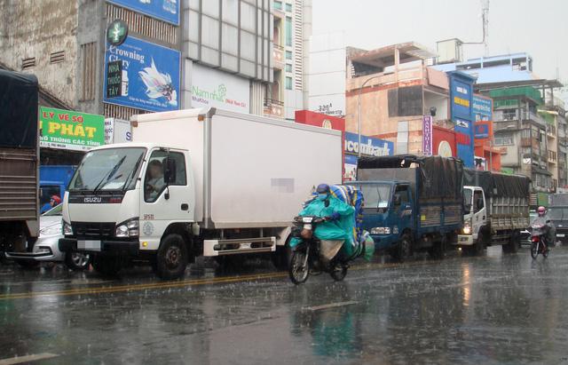 TP.HCM dự báo mưa lớn 200-250mm - Ảnh 1.