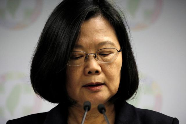 Bà Thái Anh Văn từ chức đảng cầm quyền Đài Loan - Ảnh 1.