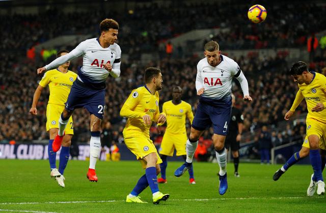 Tottenham buộc Chelsea thua trận đầu tiên - Ảnh 1.