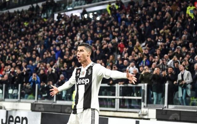 Ronaldo đệm bóng ghi bàn, Juventus hơn đội nhì bảng 9 điểm - Ảnh 1.