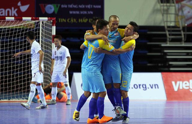 Thái Sơn Nam và Sanna Khánh Hòa vào chung kết Cúp futsal quốc gia 2018 - Ảnh 1.