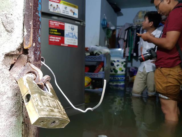 Cả xóm trọ ở Thảo Điền xin nghỉ việc vì nhà ngập nặng - Ảnh 9.