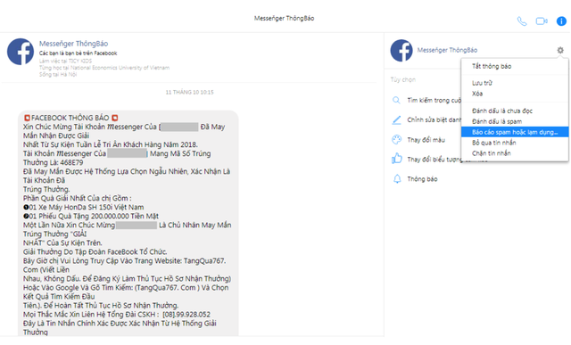 Dấu hiệu bạn sắp bị lừa đảo trên Facebook - Ảnh 3.