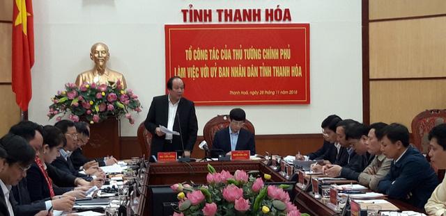 Chính phủ nhắc Thanh Hóa khắc phục tình trạng quan lộ thần tốc - Ảnh 1.