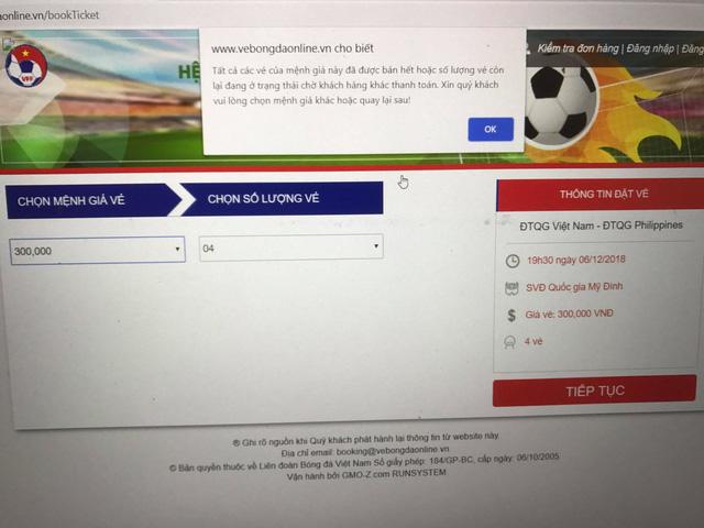 Đã bán hết vé trận lượt về Việt Nam – Philippines? - Ảnh 2.