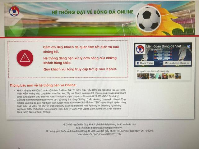 Đã bán hết vé trận lượt về Việt Nam – Philippines? - Ảnh 3.