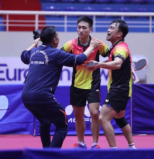 Bóng bàn Hà Nội đại thắng ở Đại hội TDTT toàn quốc 2018 - Ảnh 1.