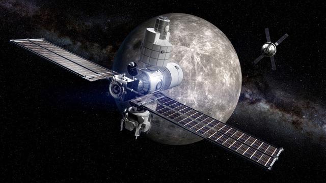 Nga công bố chạy đua xây trạm không gian Mặt trăng - Ảnh 1.
