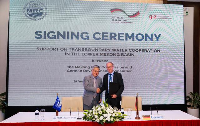 Đức, EU tài trợ 10 triệu USD cho hợp tác Mekong - Ảnh 1.